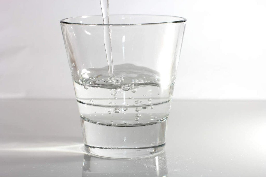 Homemade acne treatment water