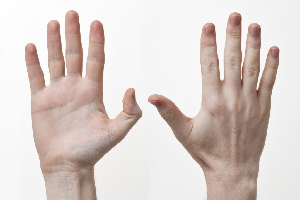 Acne Scars hands