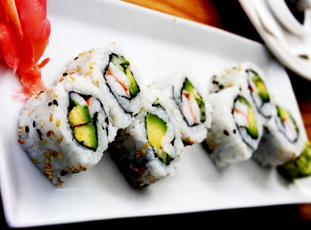 what foods cause acne sushi