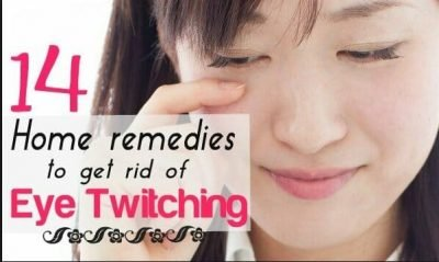 Remedies for Eye Twitching