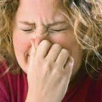 What kind of vitamin can I use to fight my allergies to strong smells?