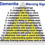 What Are Some Of The Early Signs Of Dementia?