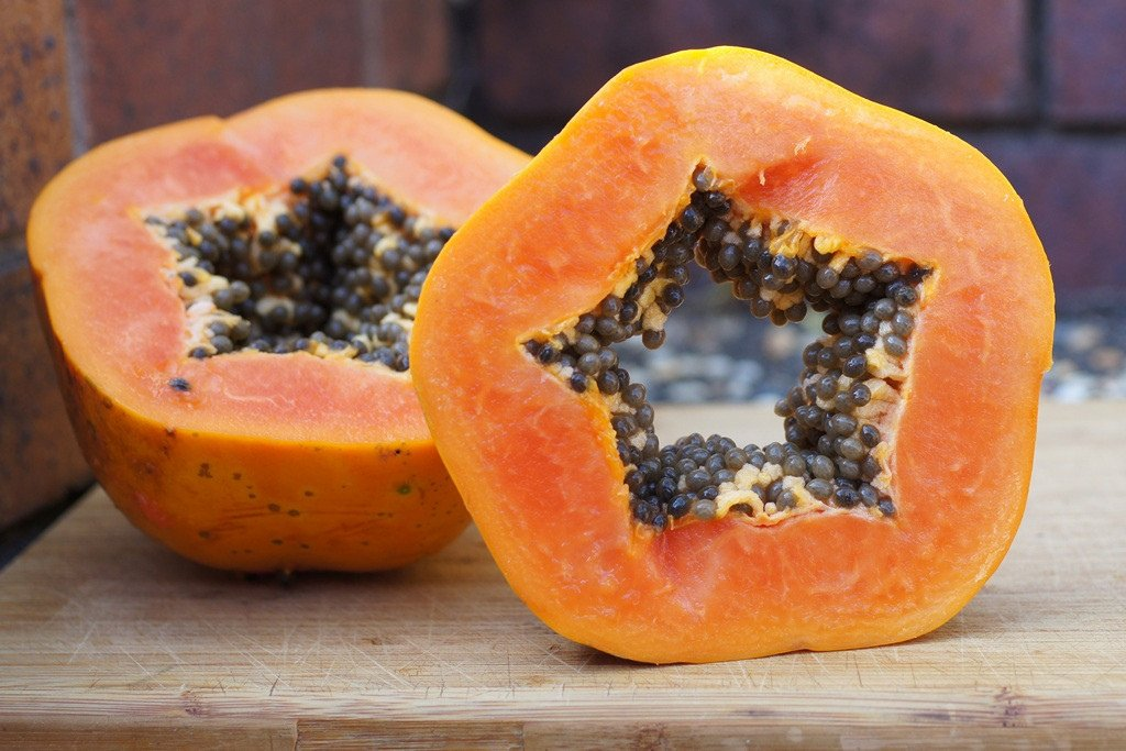 natural ways to get rid of acne papaya