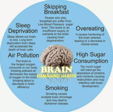 Damaging Habits That Causes Brain Disease