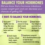 How Do I Balance My Hormones?