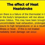 How Long Do The Effects Of Heat Stroke Last?