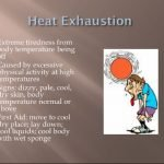 What Is The Temperature For Heat Exhaustion?