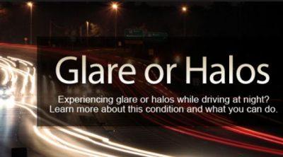 Glare or Halos